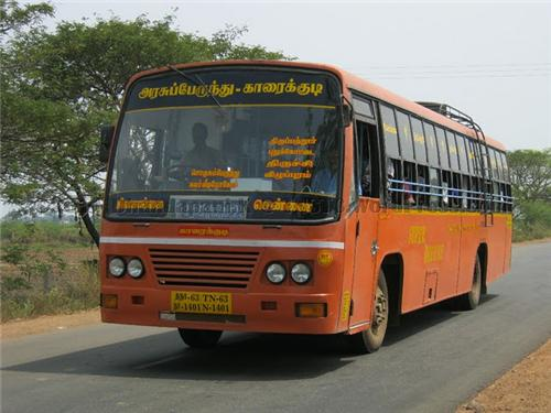 buses from Karaikkudi