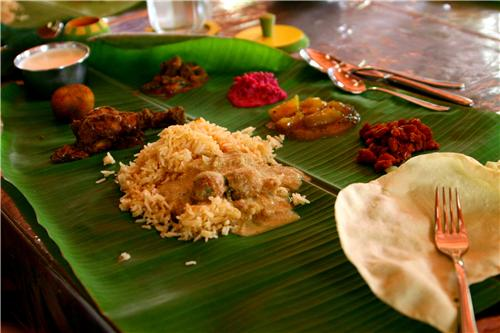 Food in Karaikkudi