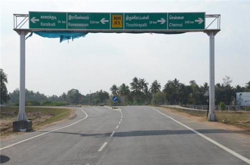Roadways in Karaikkudi