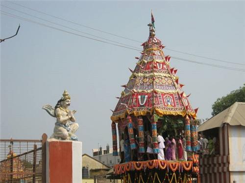 Festival at Thanthondri Malai Kalayana Venkataramana Swamy Temple