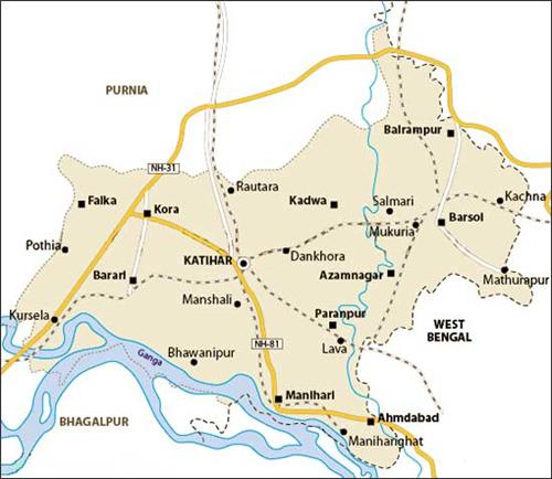 Geography of Katihar