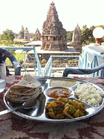 Food of Khajuraho