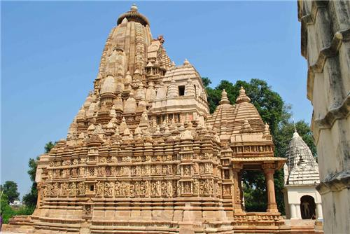 Historical temples of Khajuraho