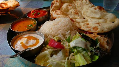 Traditional food of Khajuraho