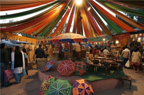 Markets in Khajuraho