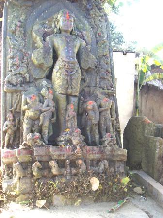 Kali Mandir at Odra Ghat in Kishanganj