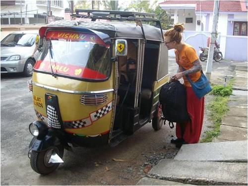 Autorickshaw ride in Kochi