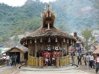 Kohima Hornbill Festivities