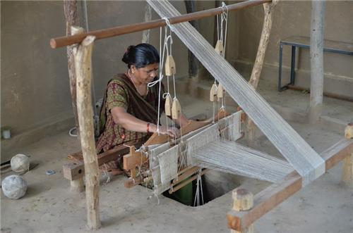 The Pitloom used to Weave Kota Sarees-Credit Google