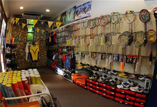 Sports goods dealers in Kota