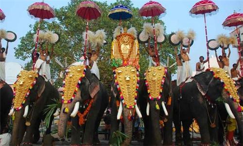 Thirunakkara temple Festival