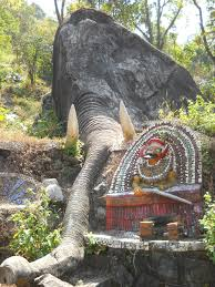 Temple near Thusharagiri Falls in Kozhikode