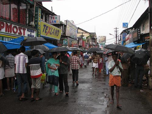 SM Street in Kozhikode Shopping Centre