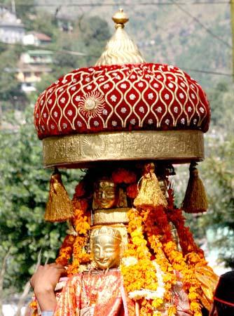Rath Yatra from Raghunathji Temple