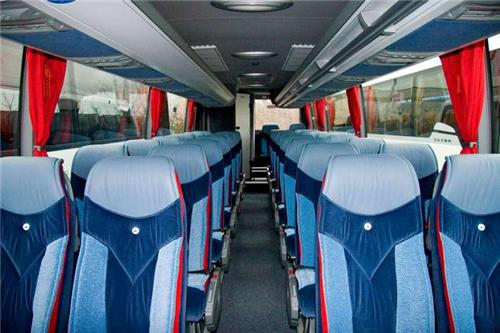 Interior of Luxury Buses in Kullu