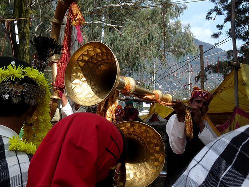 Celebration of Kullu Dussehra