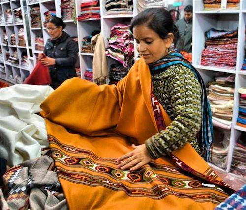 Shopping at Ahara Bazar