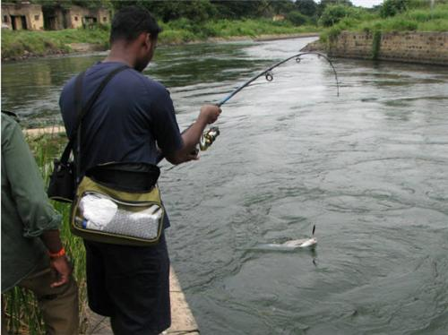 Fishing in Kullu