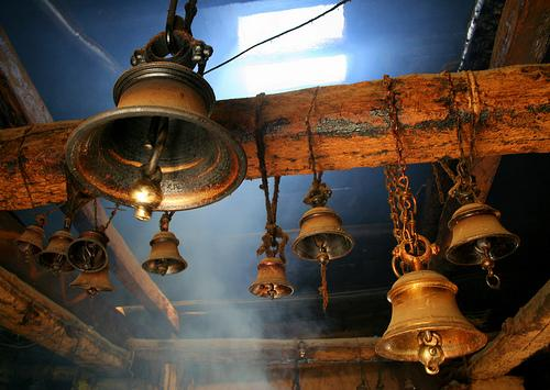 Inside the Triyugi Narayan Temple