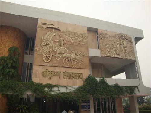 Beautiful Art and Designing in Shri Krishna Museum Kurukshetra