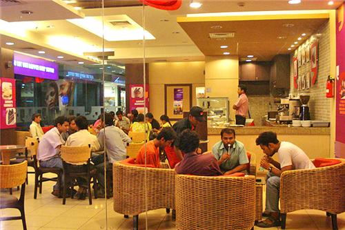 Food at Kessel Mall in Kurukshetra