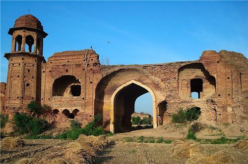 Mughal Sarai Fort in Ludhiana City