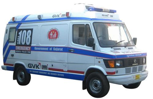 Ambulance services in Mehsana
