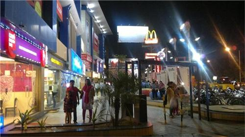 The famous shopping mall of Mehsana