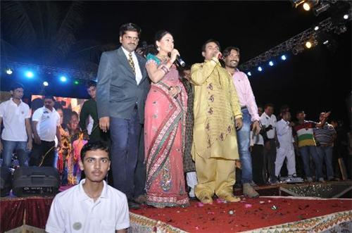 Events and celebrations with celebrities at Saffrony Holiday Resort in Mehsana