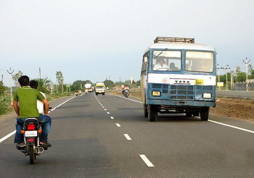 Local transport in Mehsana