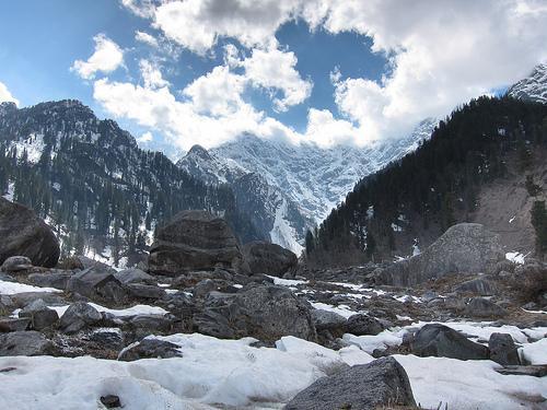Solang Valley after Snowfall