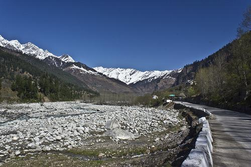 Way to Solang Valley