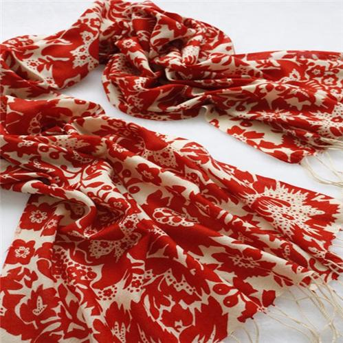 Scarves in Bhuttico Showroom