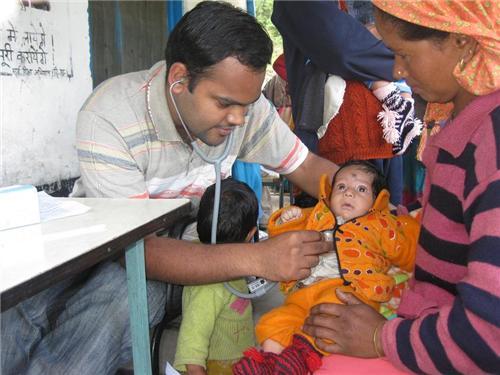 Health Check ups at Lady Willingdon Hospital, Manali