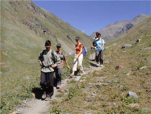 Adventures in Pin Valley National Park near Manali