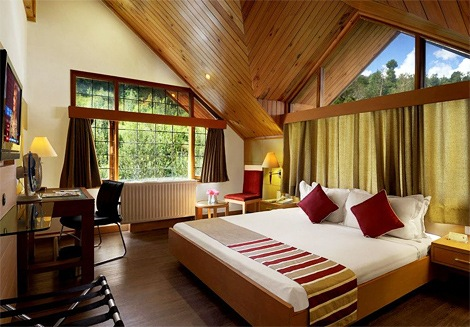 Rooms of River Country Resort in Manali