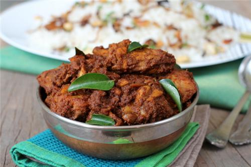 Chicken Ghee Roast of Mangalore