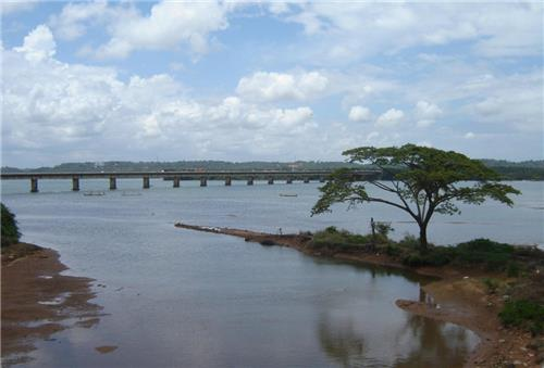 Nethravati River in Mangalore