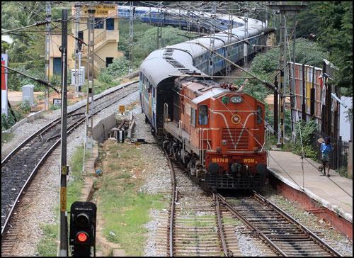 Trains in Moga