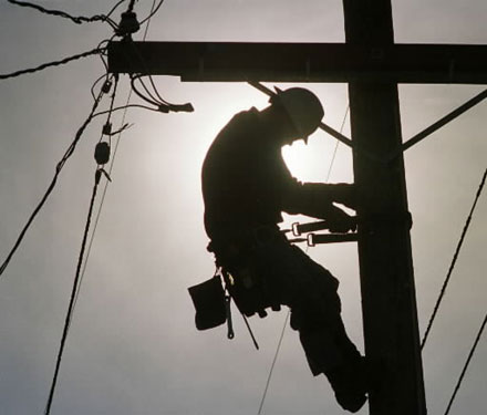 Electric Faults Being Repaired in Morbi