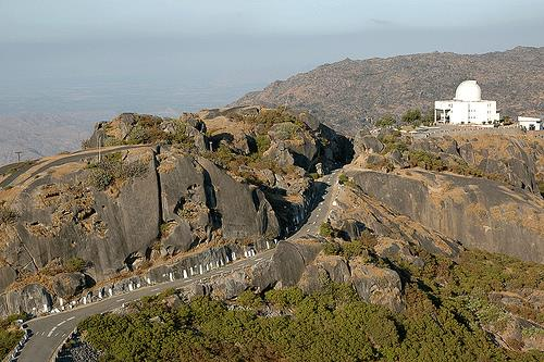 Breathtaking View of Gurushikhar in Mount Abu