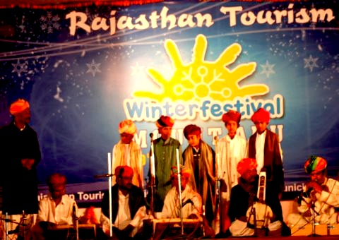 Winter Festival at Mount Abu