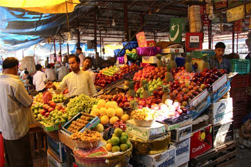 Wholesale markets in Mumbai