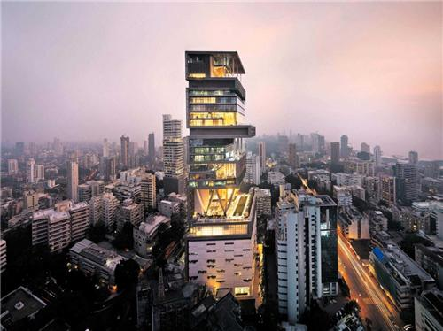 Antilla in Mumbai
