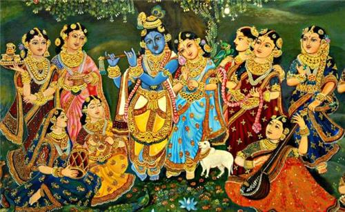 Traditional Mysore Paintings