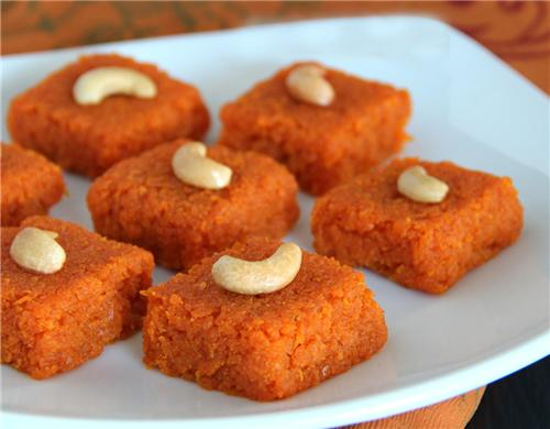 Famous Orange Barfi of Nagpur