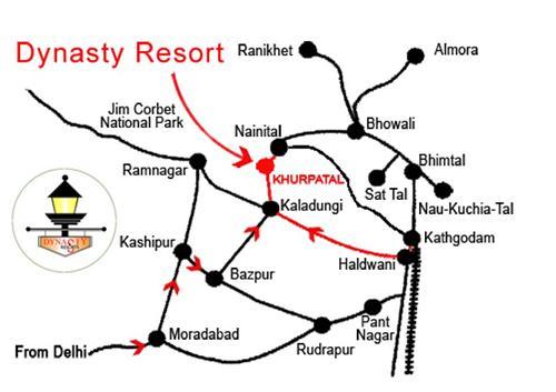 Nainital Dynasty Resort Website