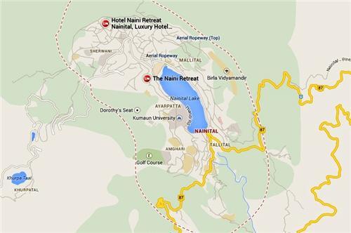Naini Retreat Nainital Contact