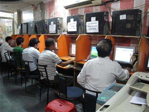 Cyber Cafe in Nalanda