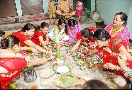 Celebrations in Nalanda